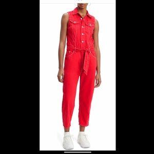 LEVI & CO Jumpsuit Size Large